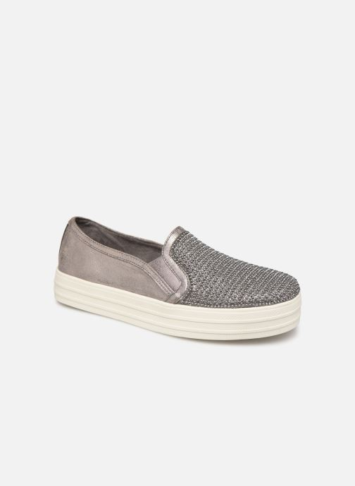 Baskets Skechers Double Up Shiny Dancer W Argent vue détail/paire